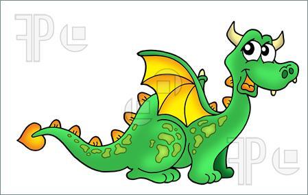 cute dragon clipart-cute dragon clipart-3