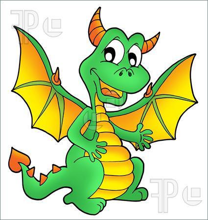 cute dragon clipart