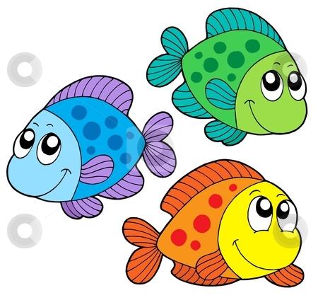 cute fish clip art