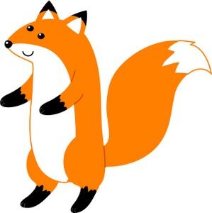cute fox clipart-cute fox clipart-8