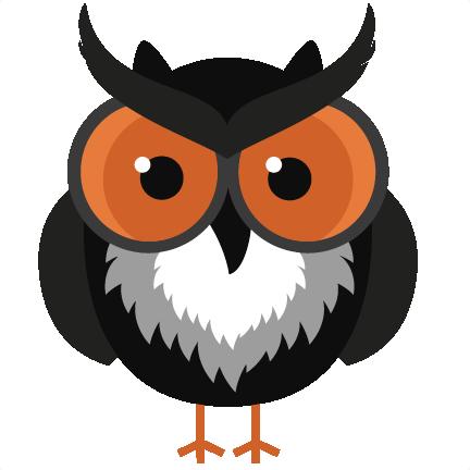 Cute Halloween Owl Clip Art-cute halloween owl clip art-1