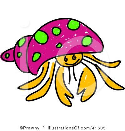 cute hermit crab clipart-cute hermit crab clipart-2