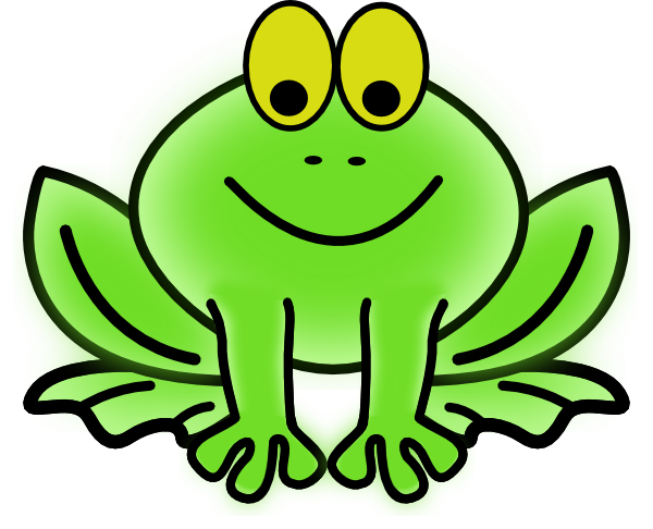 cute hopping frog clipart - Clip Art Frogs