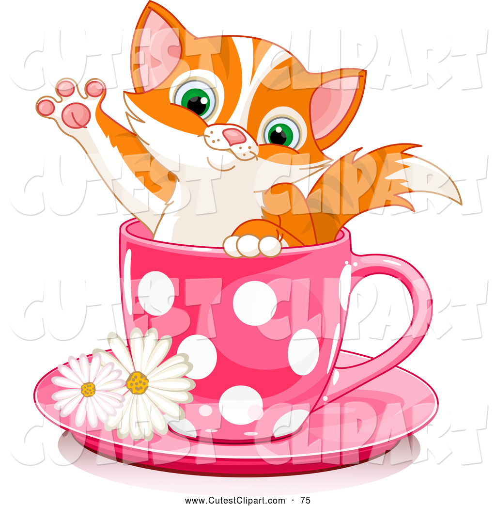cute kitten clipart