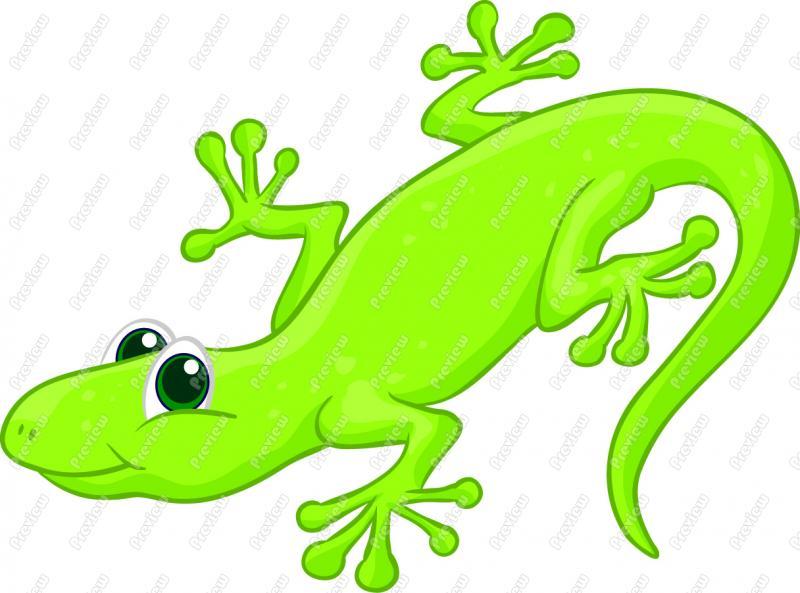 cute lizard clipart-cute lizard clipart-4