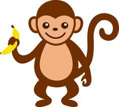 cute monkey clip art-cute monkey clip art-8