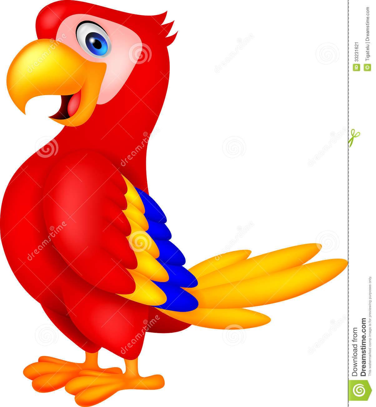 Cute Parrot Clipart-cute parrot clipart-3