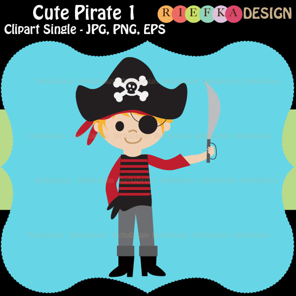 Cute Pirate Clipart-cute pirate clipart-3