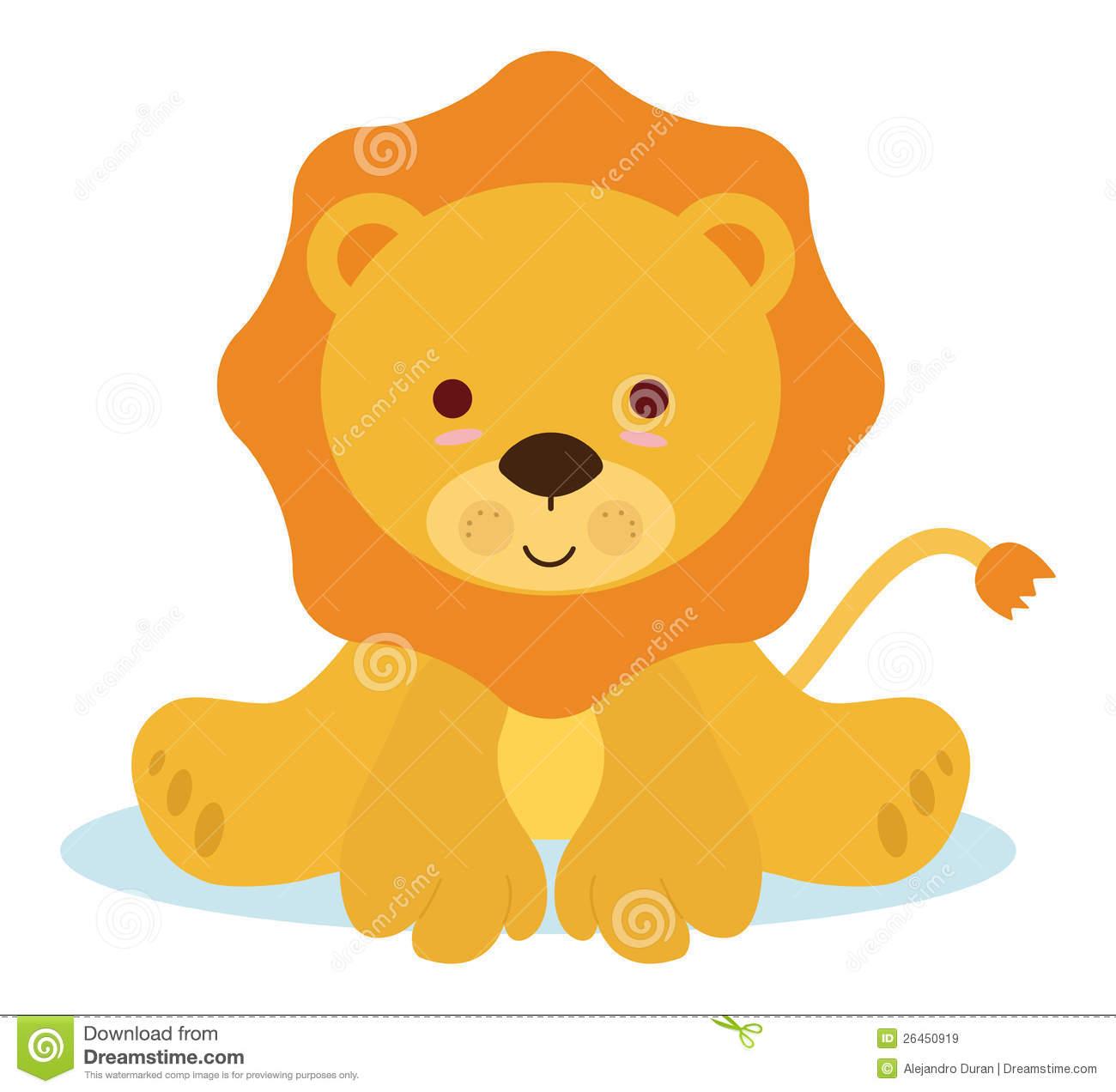 Cute Roaring Lion Clipart-cute roaring lion clipart-11