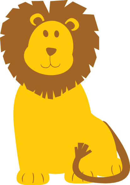 Cute Roaring Lion Clipart-cute roaring lion clipart-7