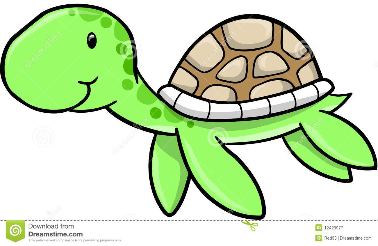 cute sea turtle clipart-cute sea turtle clipart-17