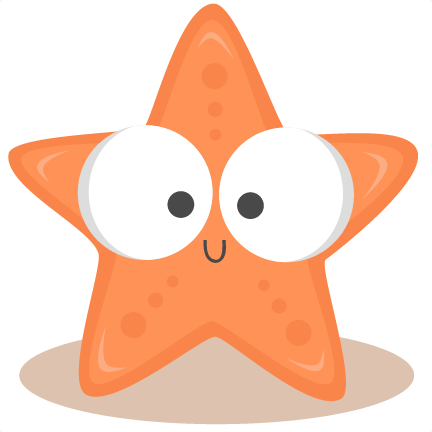 Cute Starfish Clip Art-cute starfish clip art-5