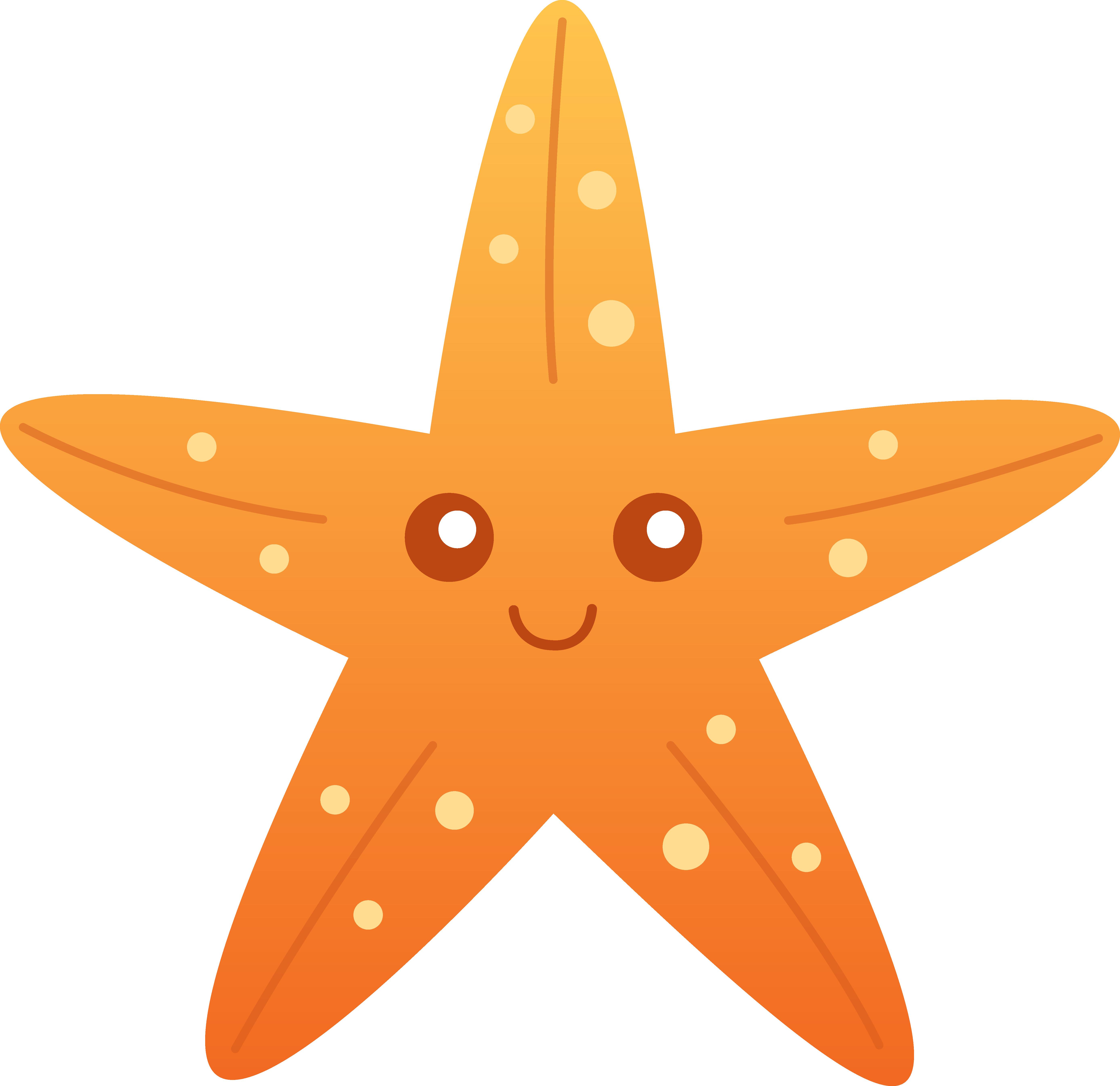 cute starfish clipart