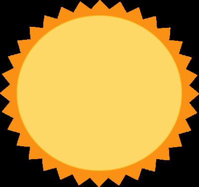 cute sun clipart