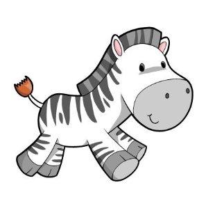 Cute Zebra Clipart-cute zebra clipart-8