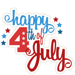 Cute 4th Of July Clipart; Free .