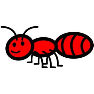 Cute Ant Clipart