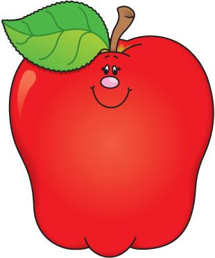 Cute apple clip art free .
