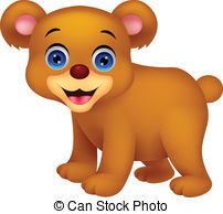 ... Cute baby bear cartoon ...