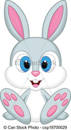 Cute Baby Bunny Cartoon .-cute baby bunny cartoon .-1