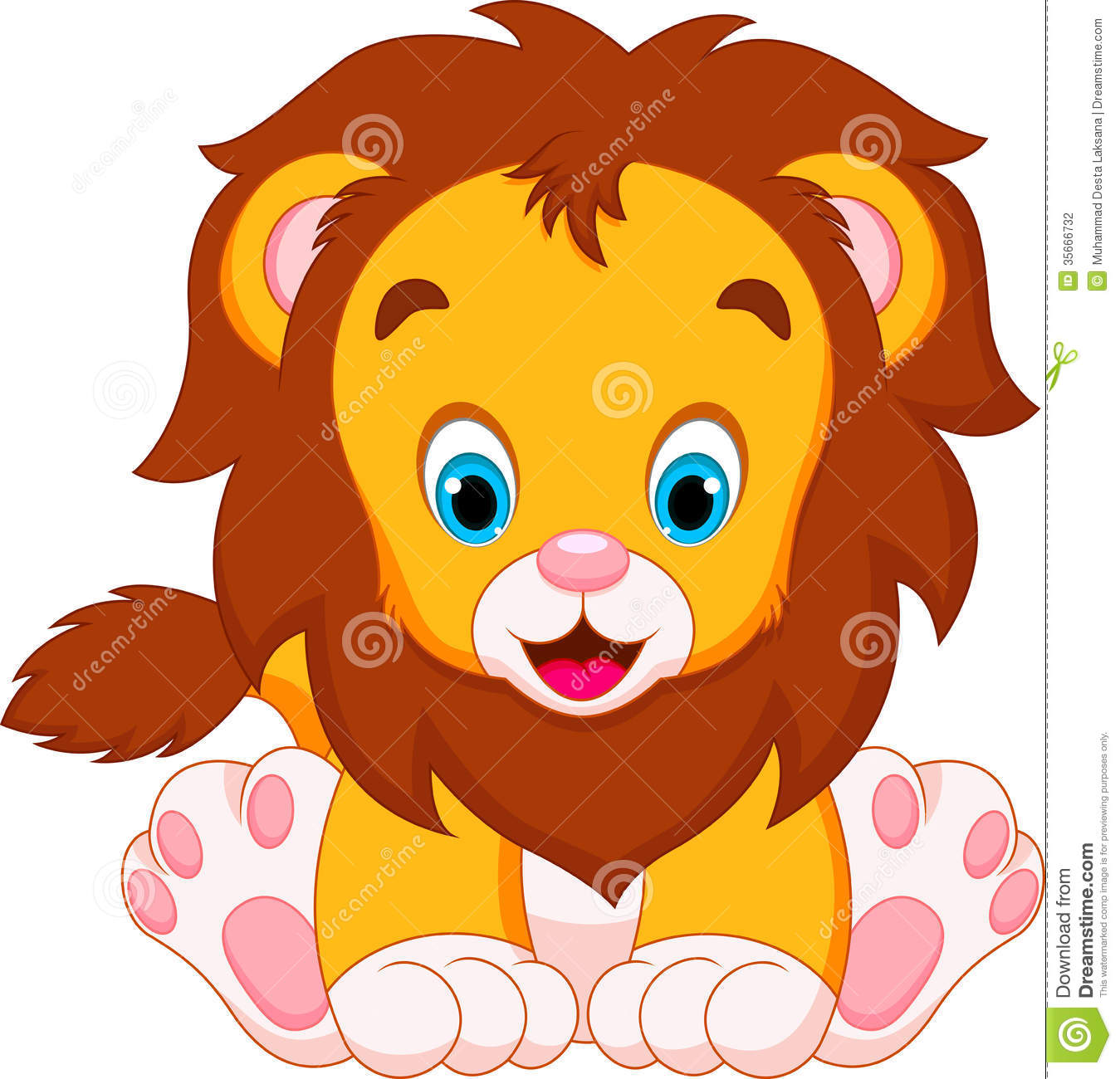Cute Baby Lion Clipart-Cute Baby Lion Clipart-13