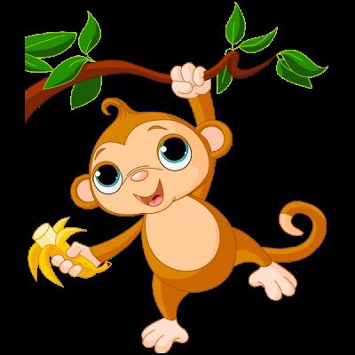 Cute Baby Monkey Clip Art ..