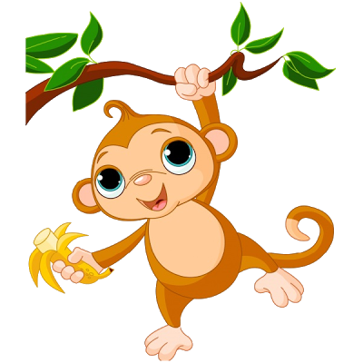 Cute Baby Monkey Clip Art Images-Cute Baby Monkey Clip Art Images-4