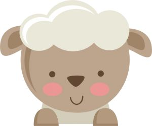 Cute Baby Sheep Clipart #1-Cute Baby Sheep Clipart #1-13