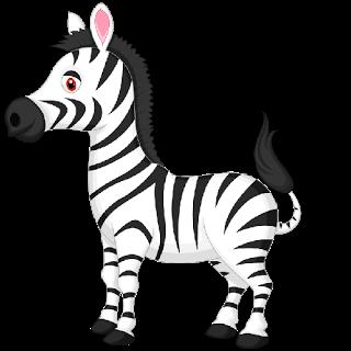 Cute Baby Zebra - Zebra . - Zebra Clip Art