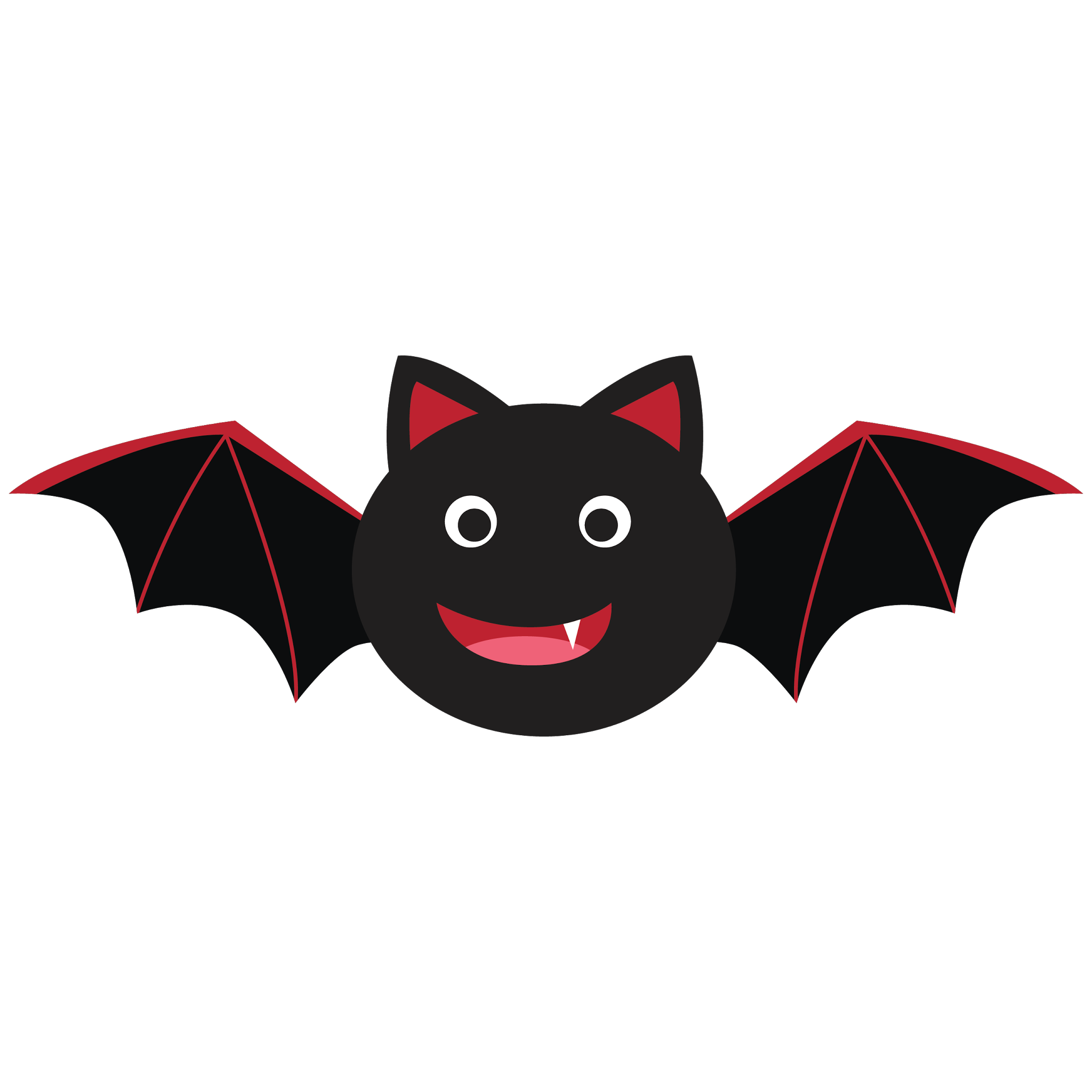 Cute Bat Clipart #1