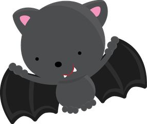 Cute Bat Clipart | Clipart . Kammy Troquinhas .