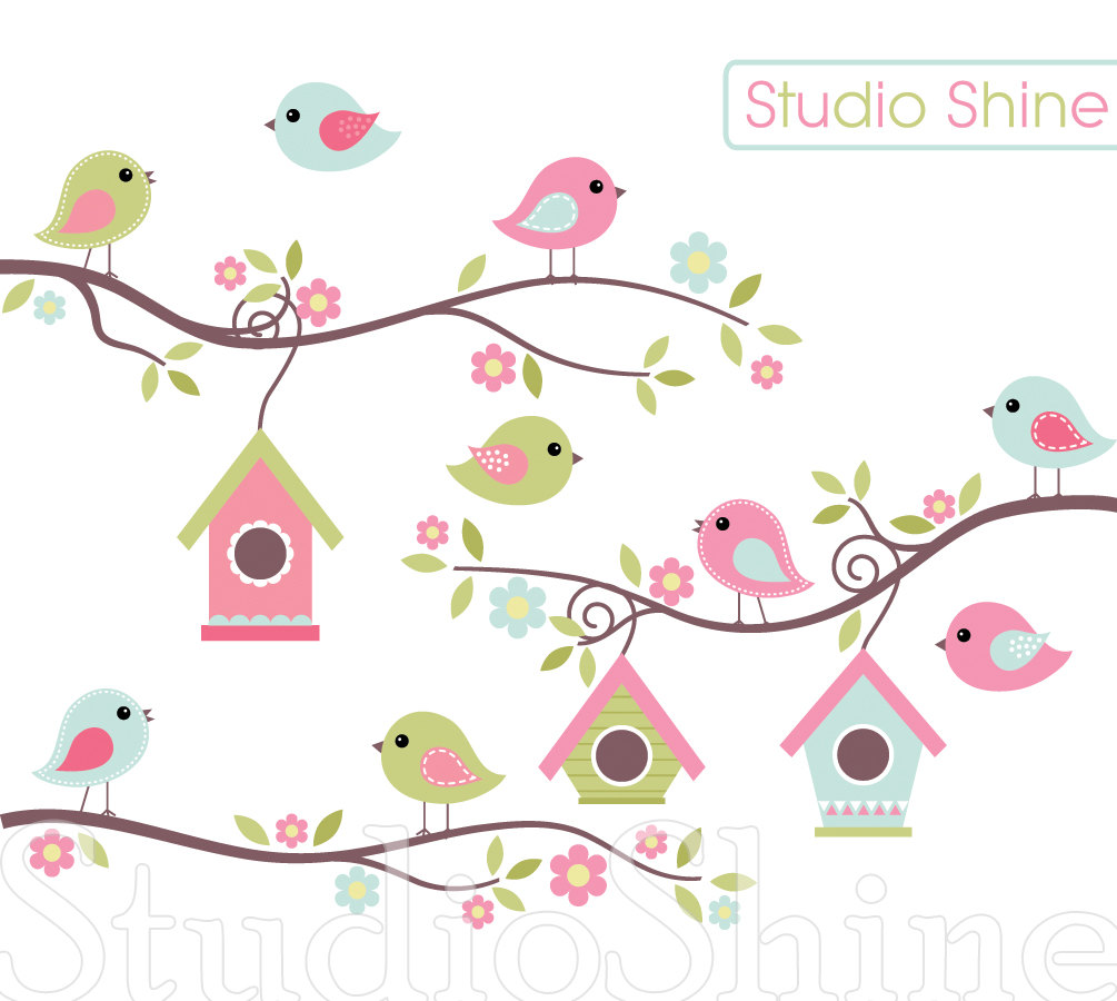 Cute Bird Clipart - Blogsbeta