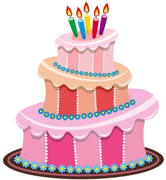 Cute Birthday Cake Clipart |  - Birthday Cakes Clipart