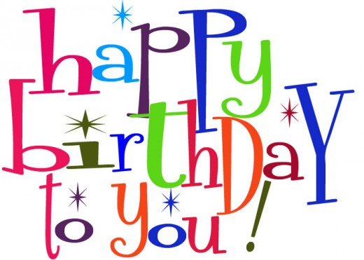 Cute Birthday Clipart For Facebook Happy Birthday To You