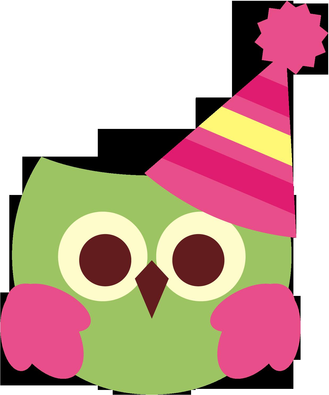 Cute Birthday Owl Free Clipart-Cute birthday owl free clipart-2