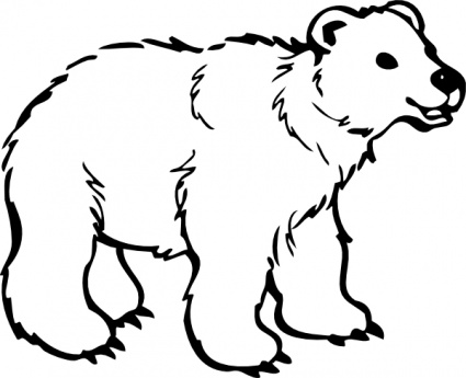 Cute Black Bear Clipart | Clipart library - Free Clipart Images
