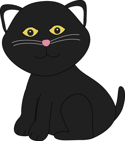 Cute Black Cat Clip Art Cute Black Cat Clip Art Witch Clip Art Black