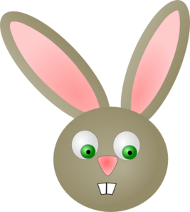 Cute Bunny Rabbit Clip Art At Clker Com Vector Clip Art Online
