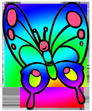 Cute Butterfly, Butterfly Clipart For Ki-cute butterfly, butterfly clipart for kids-12