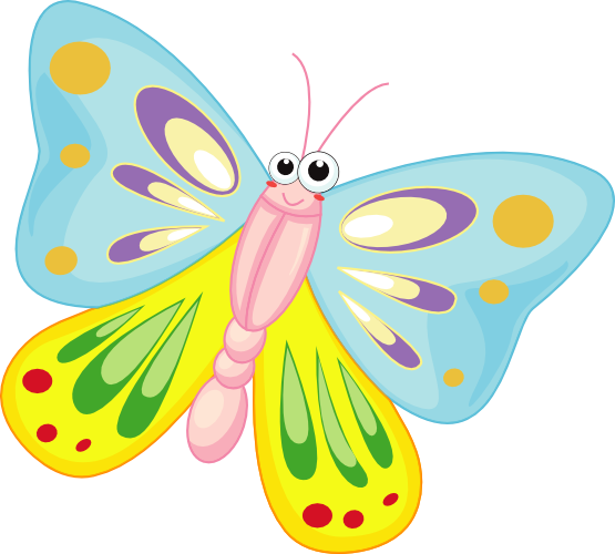 Cute Butterfly Clipart Png