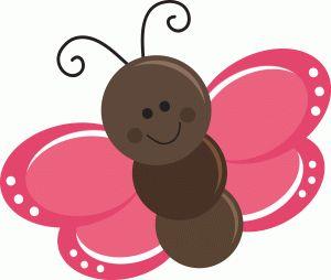 ... Cute butterfly clipart silhouette - ClipartFox ...