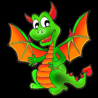 Cute Cartoon Dragon Clip Art-Cute Cartoon Dragon Clip Art-7