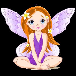 Cute Cartoon Fairies Clip Art Images