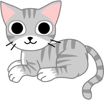 Cute cat clipart free clipart .