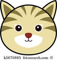 Cute Cat Vector-Cute Cat Vector-12