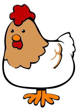 Cute chicken clipart free clipart images