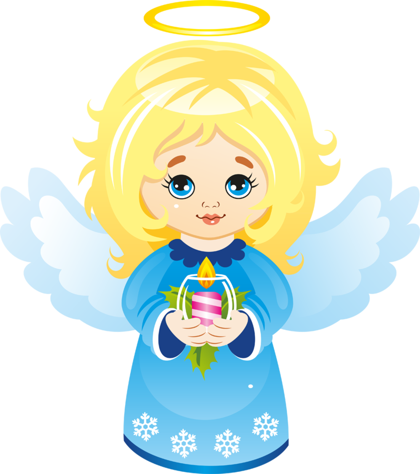 Cute christmas angel with candle clipart by joeatta on deviantart