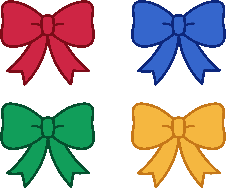 Cute Christmas Bows Clipart - Free Clip -Cute Christmas Bows Clipart - Free Clip Art-12