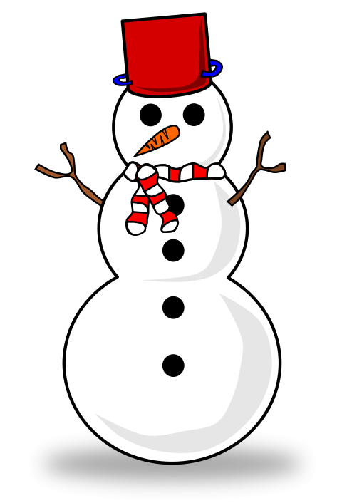 Cute Christmas Snowman Clipart Quoteseveryday Website