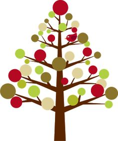 Cute Christmas Tree Clipart - .-Cute christmas tree clipart - .-6